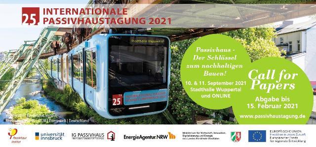 25-та Міжнародна конференція Пасивного Будинку у вересні на сайті у Вупперталі та он-лайн